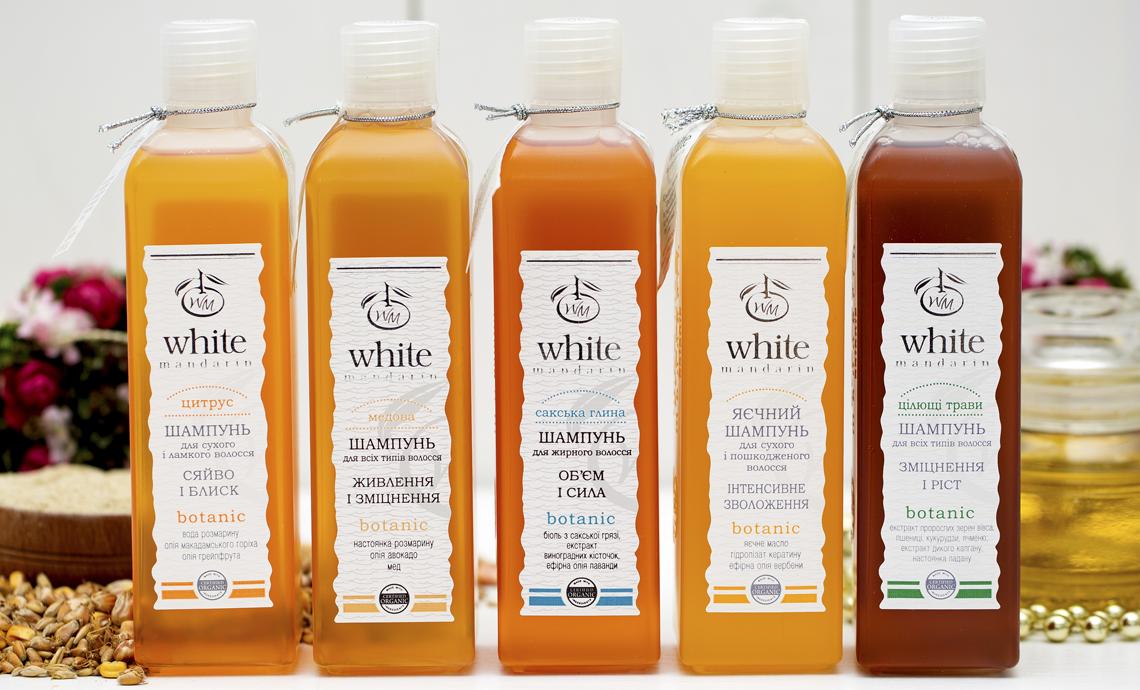 Уход за волосами от White mandarin
